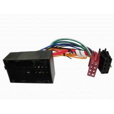 RTA 004.306-0 Câble adaptateur ISO , Citroën, Fiat , Peugeot avec connecteur 50 broches