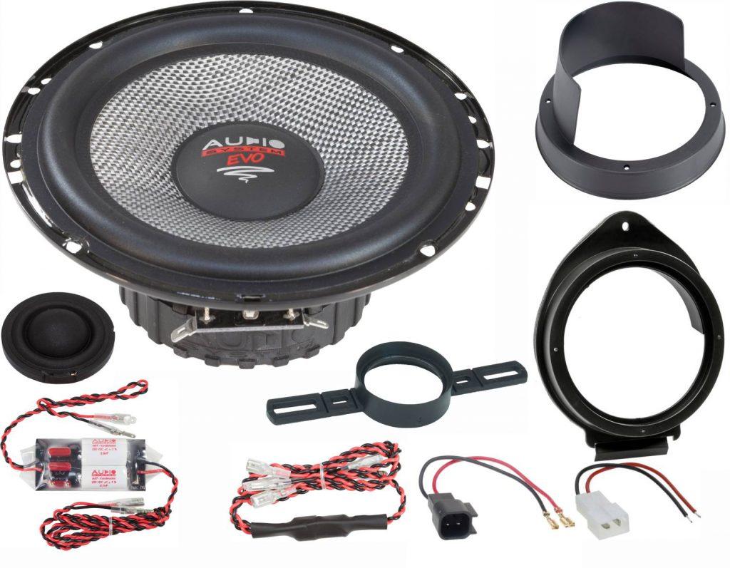 AUDIO SYSTEM XFIT OPEL ADAM EVO2 110W PERFECT FIT COMPO SYSTEM Lautsprecher kompatibel mit OPEL ADAM 2012 ->