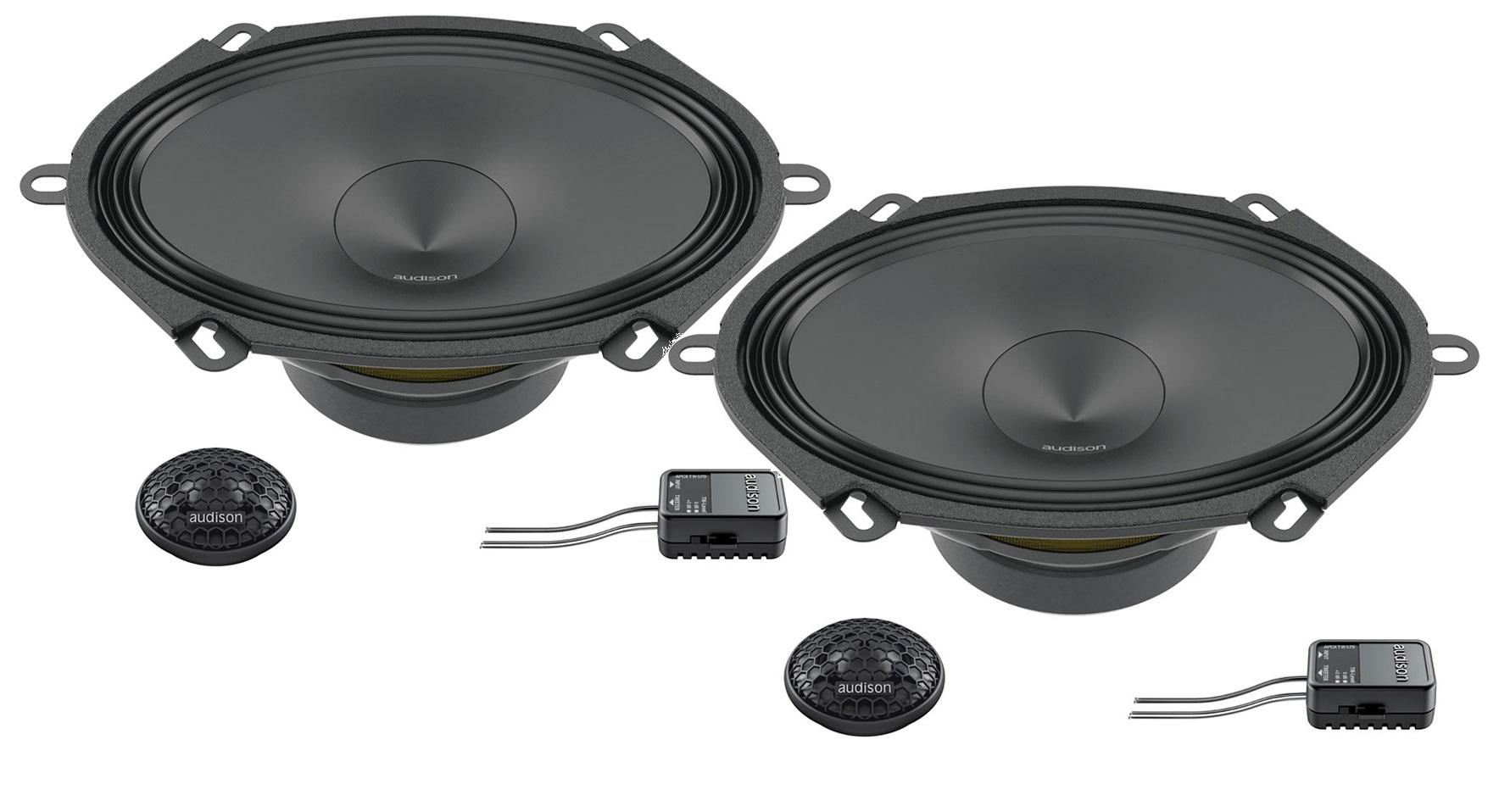 Audison Prima APK 570 - 5x7 2-Wege Kompo-System KIT 2Way AP 1+AP 570+XOVER