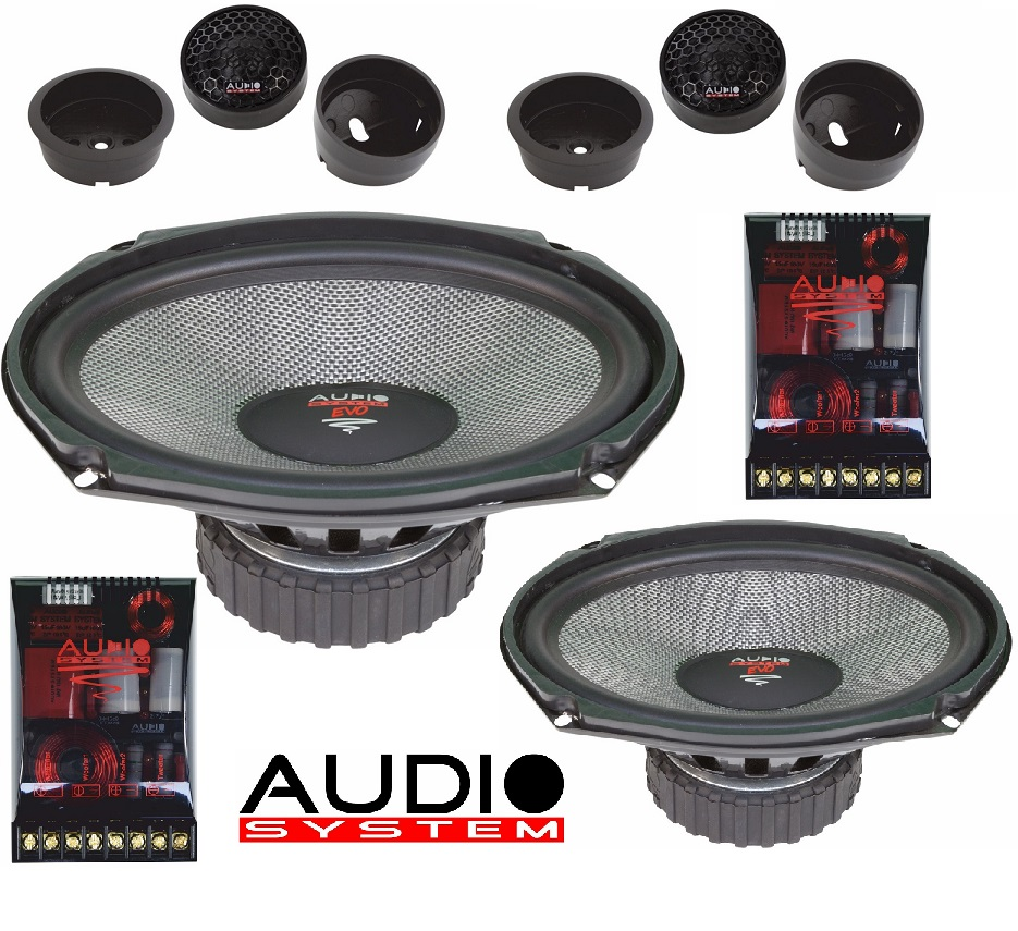Audio System X 609 EVO 2 6x9 2-Wege Compo System X--ion-SERIES 1 Paar