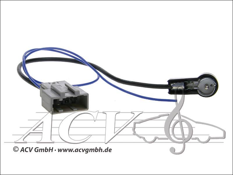 ACV 1512-1502 Nissan Antenna ISO Adapter