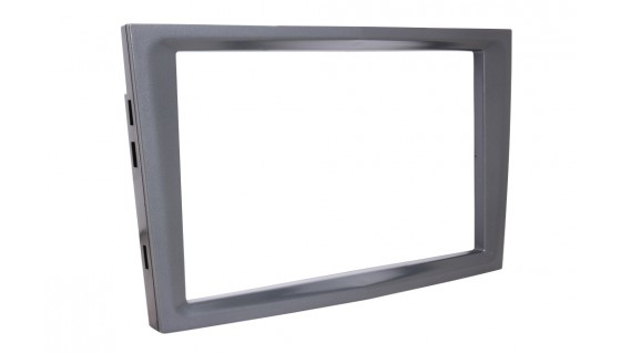 RTA 002.150P13-0 Double DIN Senior aperture Stealt - black ( black shade ) Opel with bend 04 >