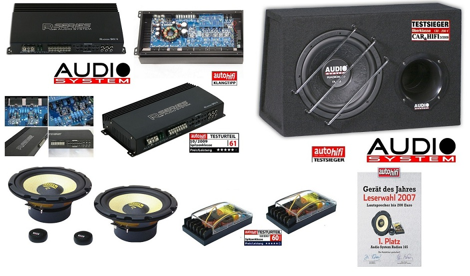 Audio System RADION SERIES Set RADION 10 + R90.4 + Radion 165