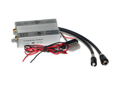 RTA 007.005-0 AUX IN - digital FM frequency converter
