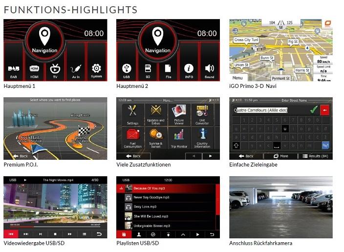 ESX VNC710-VW-P1 Naviceiver Fahrzeugspezifischer Autoradio für VW, Seat, Skoda
