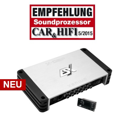 ESX XENIUM X-DSP 8-Kanal-Prozessor XENIUM X-DSP