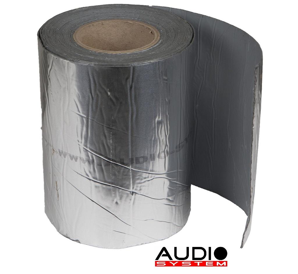 AUDIO SYSTEM ALU 200 EVO Alu-Kautschuk - Dämmaterial ALUBUTYL 10 m x 0,2 m = 2m²
