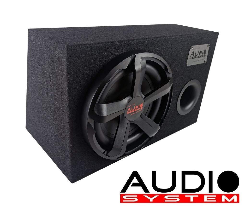Audio System CARBON 10 BR Bassreflexgehäuse Subwoofer mit CARBON 10, 350 Watt