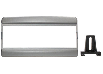RTA 000.230-0 1 - DIN mounting frame, silver ABS