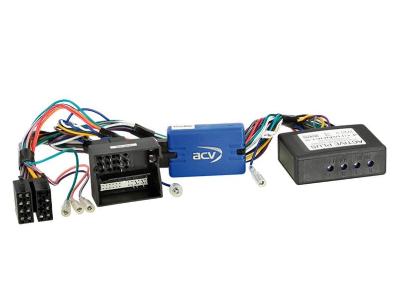 ACV 42-AD-606 SWC Audi A3 / A4 / TT Quadlock / Active System completo> Sony