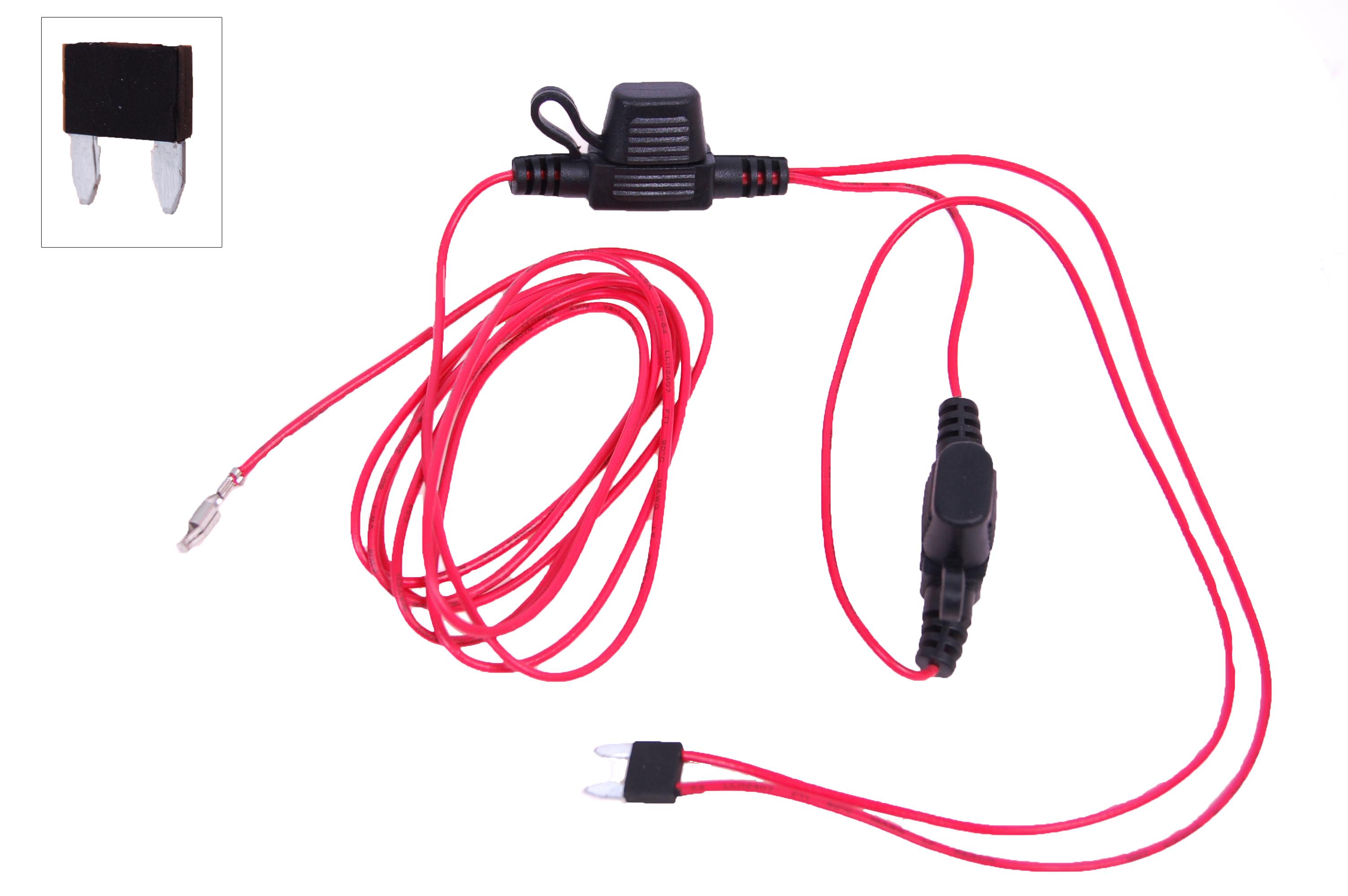 RTA 004.118-0 Geschaltetes +12V (Kl. 15) von der Sicherungsbox.