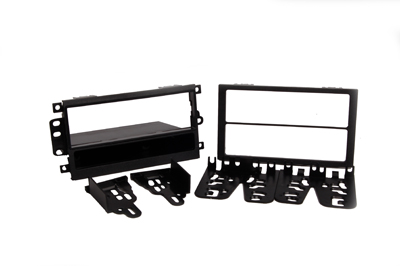 RTA 001.484-0 Multi-frame mounting kit with storage compartment, ABS black version