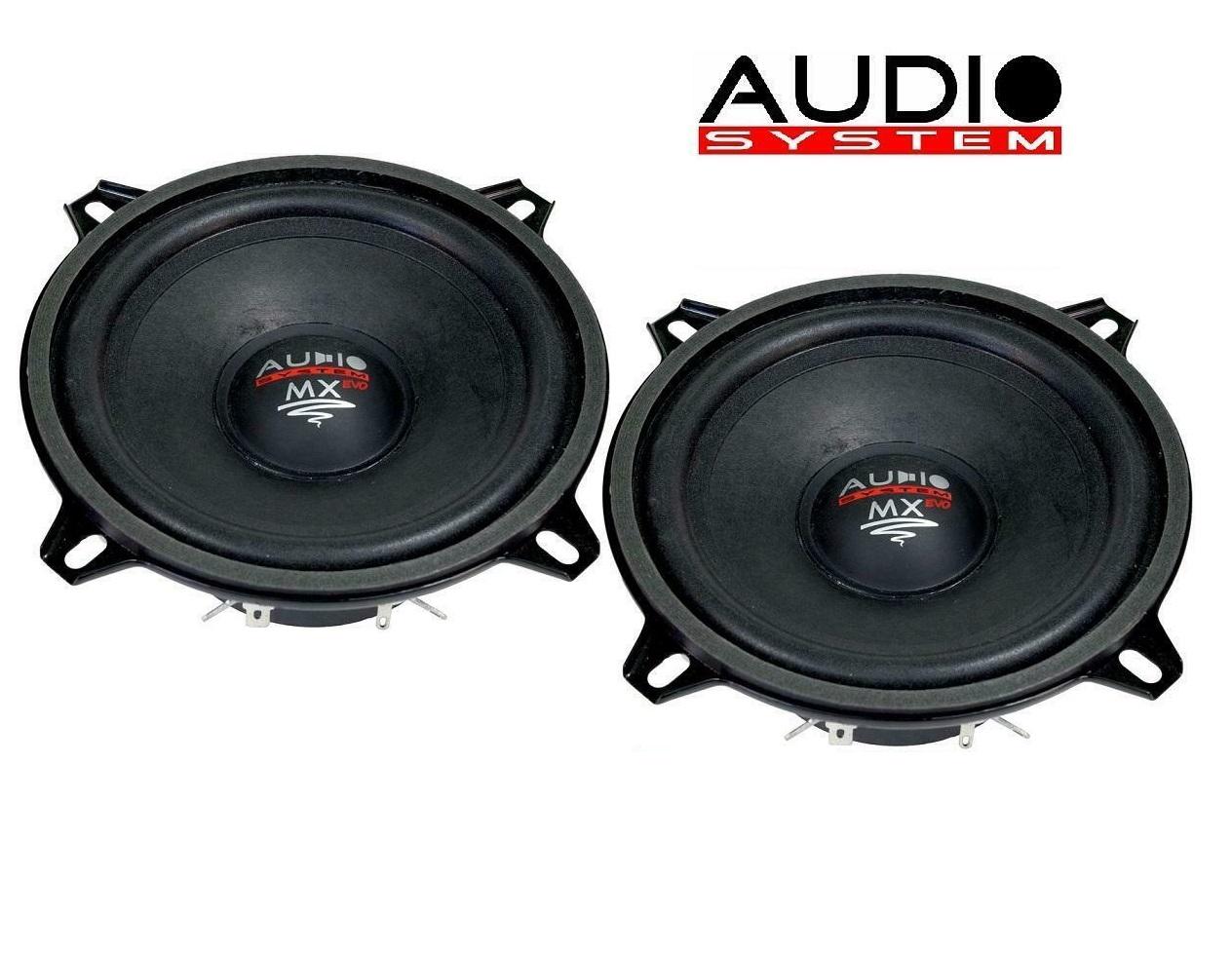 AUDIO SYSTEM MXS 130 EVO Mitteltöner Tief Mitteltöner Lautsprecher 13 cm - 1 Paar