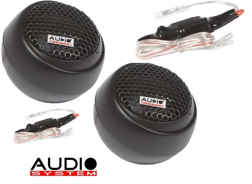 Audio System HS 19 W EVO AUDIO SYSTEM 19 mm Gewebe-Neodymhochtöner 1 Paar Hochtöner Tweeter