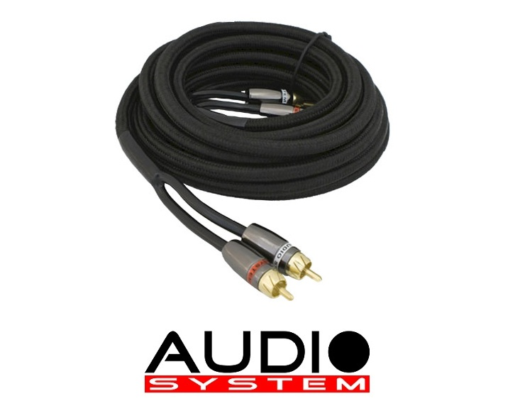 Audio System Z CHBLACK 3.5 m high-end RCA cable 3.5 meter