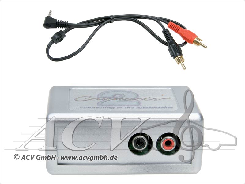 ACV 44VVGX003 VW (pre) Connects 2 AUX Adapter