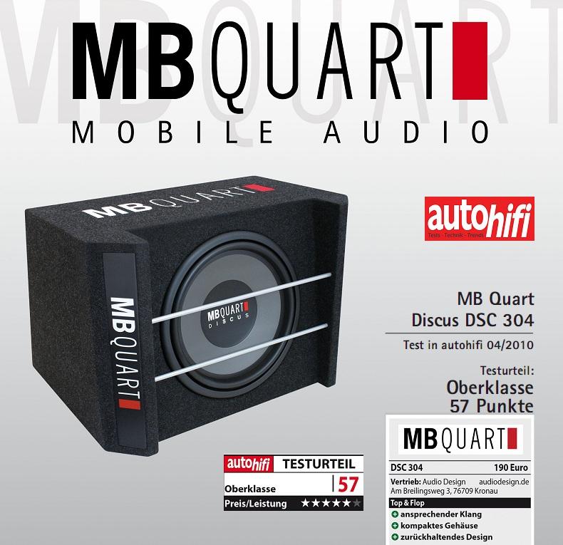 """MB Quart DSC 304 12"""" (30 cm) Bassreflex-Subbox DSC304"""