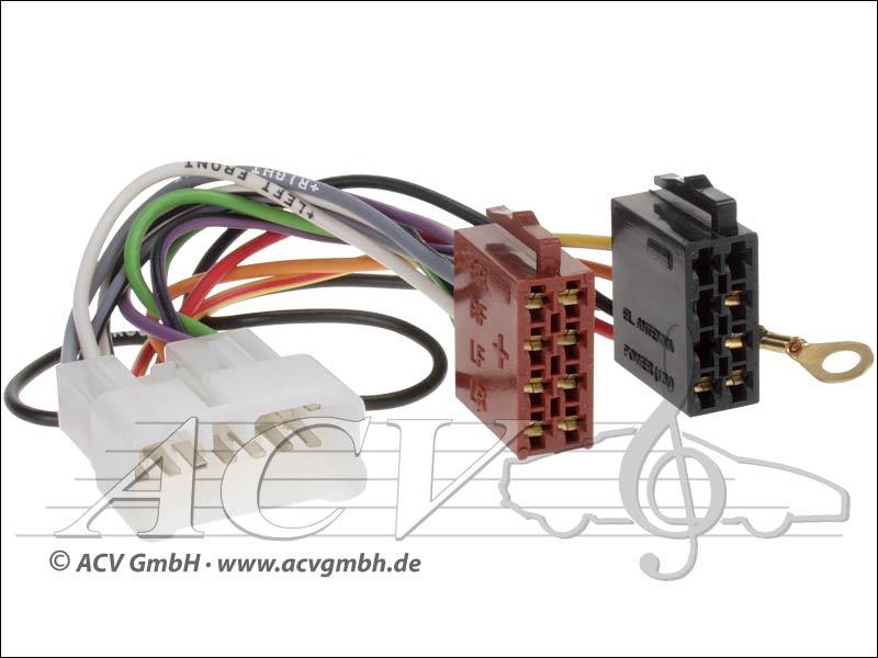 ACV 1294-02 Radioanschlusskabel Suzuki