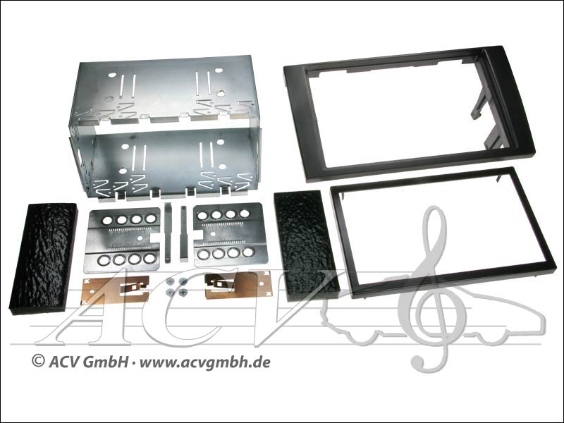 Double-DIN installation kit Audi A4 2002 -> with Symphony Radio