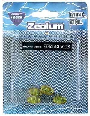 ZEALUM ZFMANL-150 MINI-ANL Fuse 150 Amp 4pcs