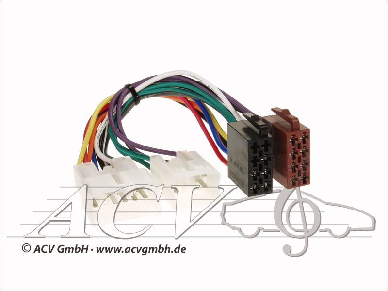 ACV 1300-02 Radio cable Daihatsu / Lexus / Toyota / VW