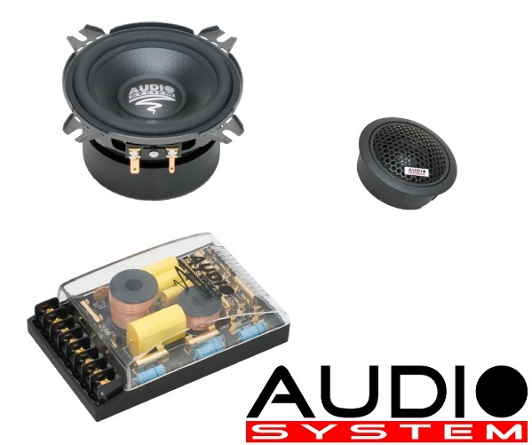 Audio System HX 100 SQ 100 mm, 2-Wege High End Composystem HX100