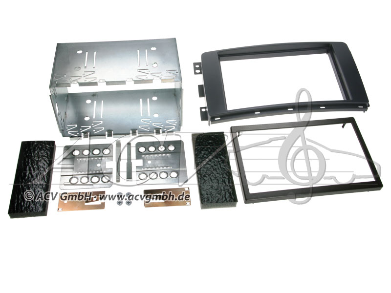 Double-DIN installation kit for the Smart Fortwo (BR451)