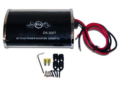 RTA 150.101-0 Spannungswandler 12V -> 230V - 300W mit Lüfter und überlastungsschutz