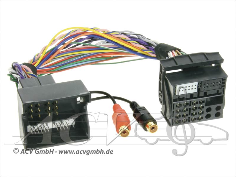 ACV 44VFOX002 Ford Connects 2 AUX Adapter
