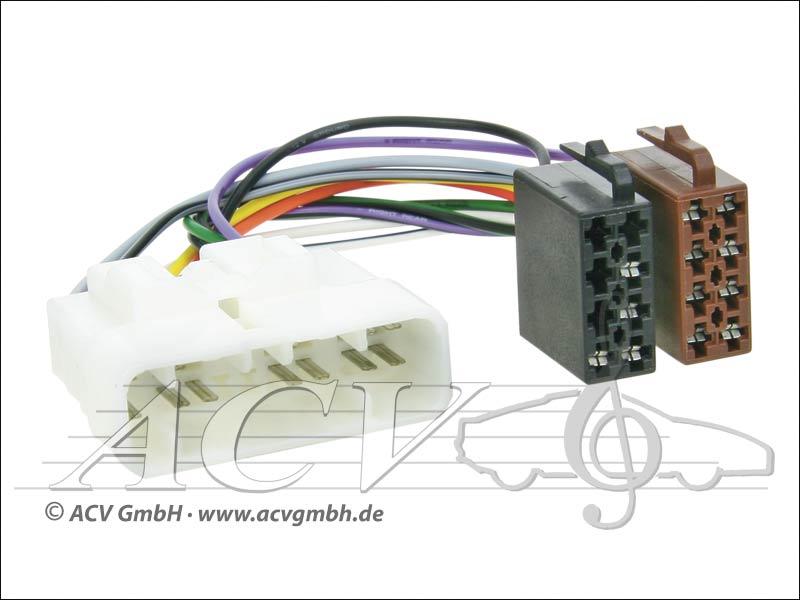 ACV 1160-02 Radioanschlusskabel Isuzu Strom / 4 Lautsprecher