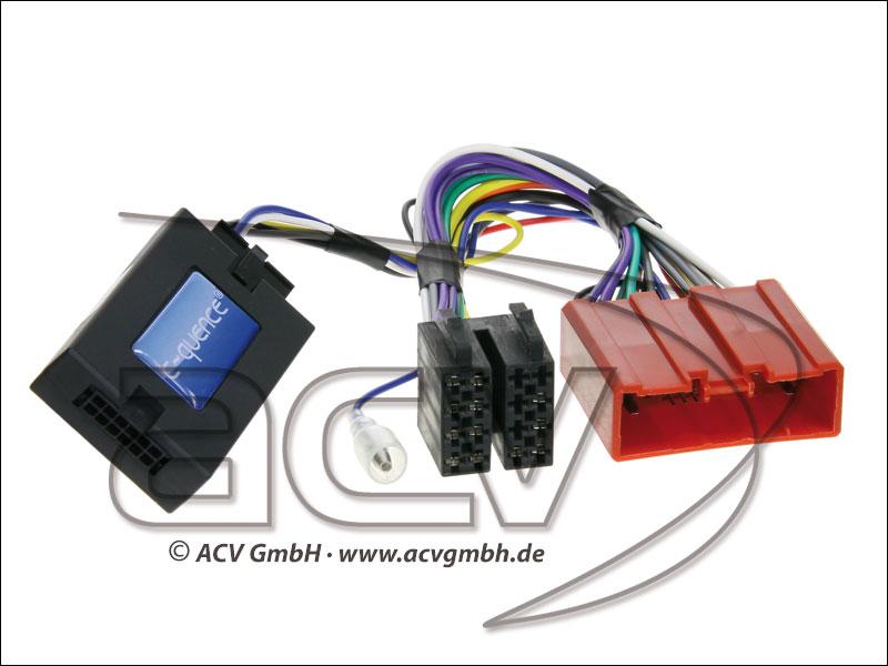 ACV 42-MZ-503 Wheel Adapter Mazda 6-non-amplified> Blaupunkt