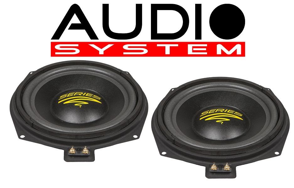 Audio System AX 08 BMW MK2 Neodym-Tieftöner für BMW 1 Paar
