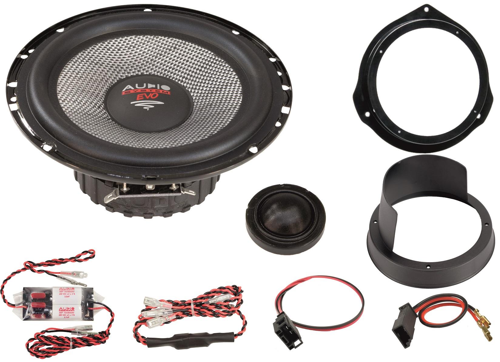 Audio System XFIT MERCEDES VITO 447 EVO 2 Lautsprecher MERCEDES VITO 16,5cm Speaker