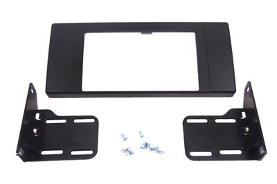 RTA 002.348-0 Doppel DIN Einbaurahmen,  Ausführung ABS schwarz BMW X5 E53 00 - 06
