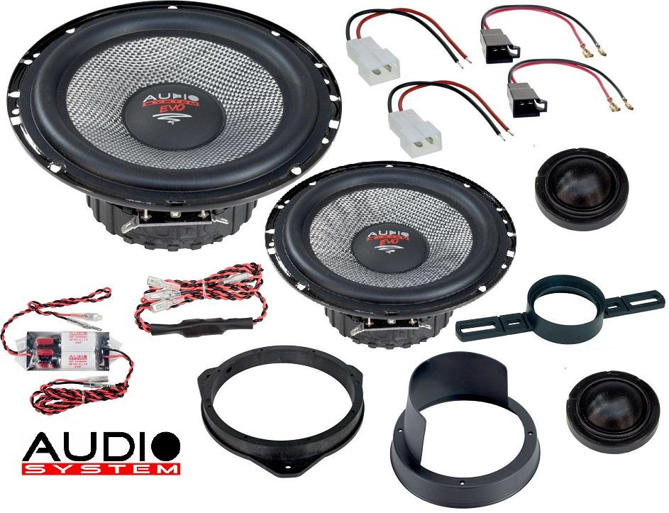 Audio System XFIT FIAT DUCATO EVO 2 Lautsprecher 165 mm 2-Wege FIAT DUCATO ab 2006