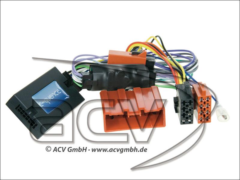 42-MZ-810 Lenkradadapter Mazda CX-9 amplified + BOSE-> Clarion