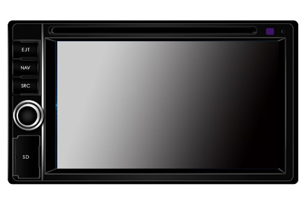 Dynavin DVN-6205 Multimedia Navigation N7 Plattform  inkl. Navigationssoftware iGo Primo