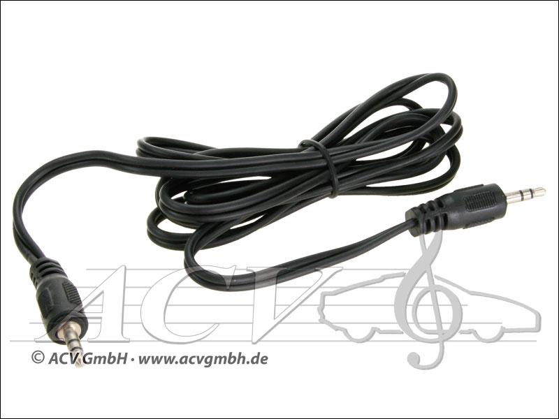 ACV 311490-04 Klinkenstecker auf Klinkenstecker 3,5 mm Stereo
