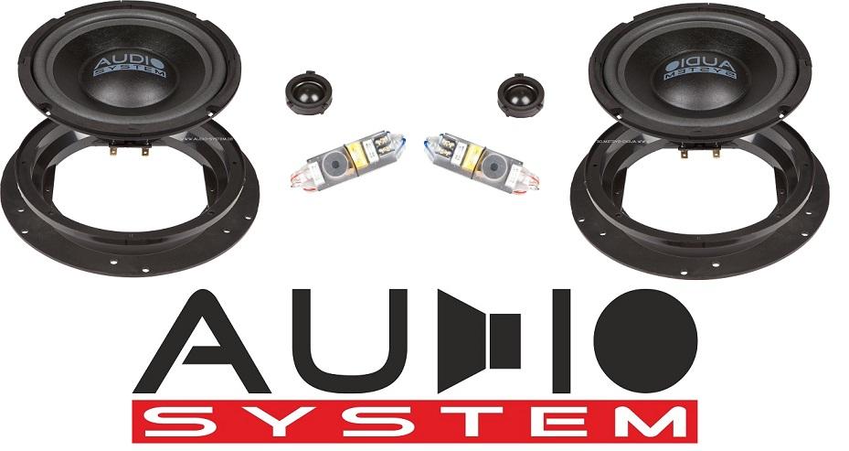 Audio System X 200 T5 X-Series 2-way spécial pour VW Bus T5, Touran