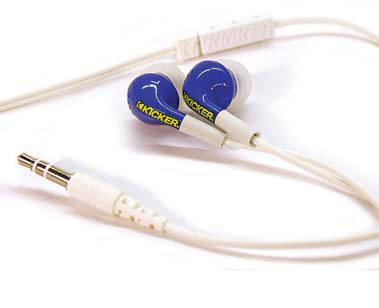 KICKER EB71BL Performance Ear Bud 09