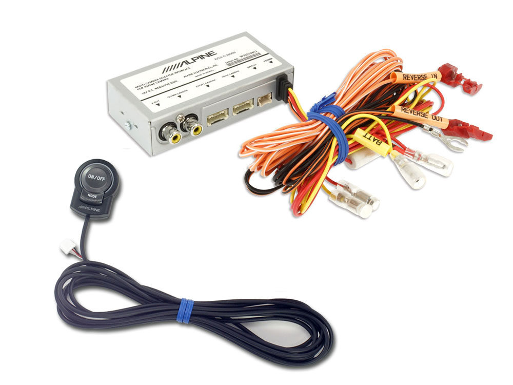 Alpine KCX-C2600B Duale Multikamera-Anschlussbox