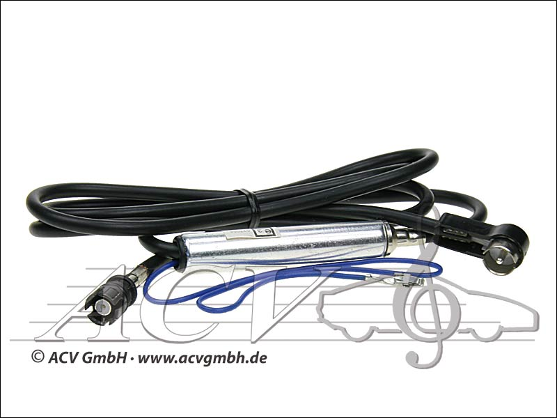 ACV 1501-02 VW Polo ISO-Antennenadapter mit Phantomeinspeisung