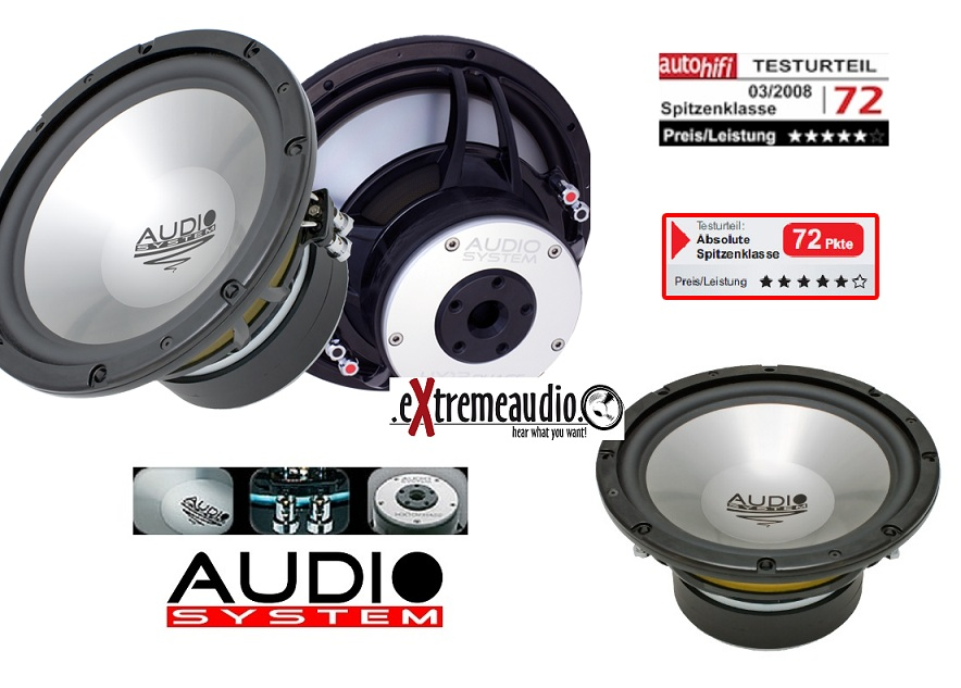 Audio System HX 12 Phase 30 cm High End Subwoofer HX12