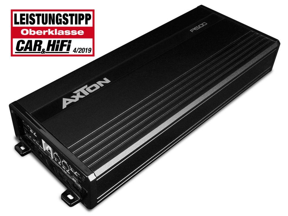 AXTON A500 Digital Power Amplifier 4 x 80 + 200 Watt 5 Kanal Digital Power Amplifier 4 x 80 + 180 Watt Verstärker AMP