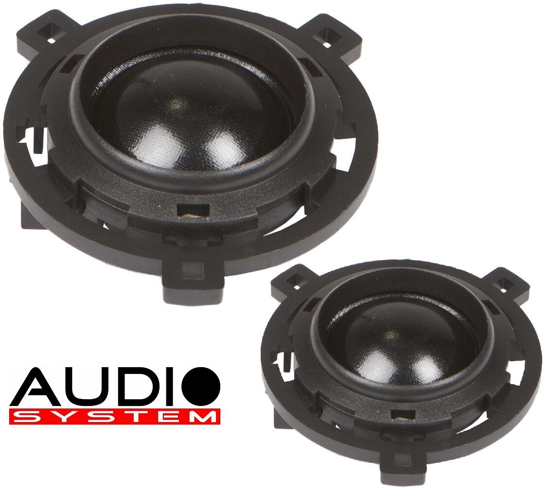 Audio System HS 25 GOLF 6+7 EVO 2 Hochtöner VW Golf 6+7, Scirocco 1 Paar Hochtöner Tweeter