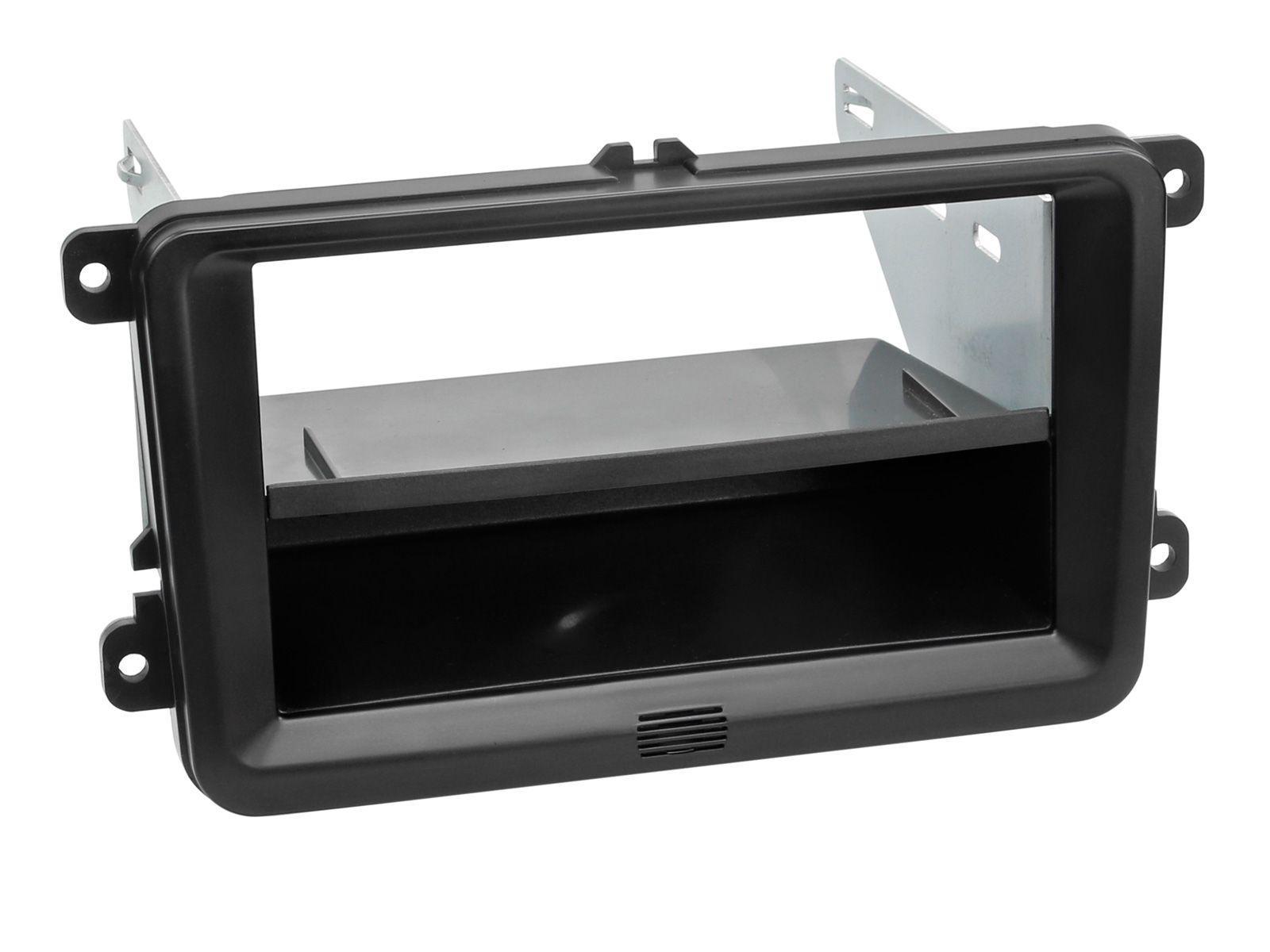 Alpine APF-F281320-30-1VW 2-DIN Installations-Kit für 1-DIN Headunit oder iLX-F903D/INE-F904D/DC in diversen VW's, Seat's, Skoda's