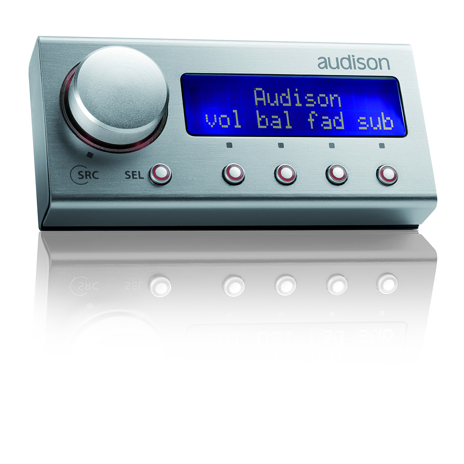 Audison DRC Bedieneinheit für Audison Soundprozessoren DIGITAL REMOTE CONTROL TH AND bit