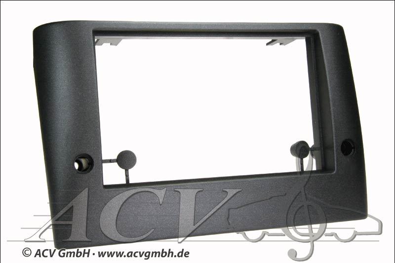 Fiat Stilo Double lunette DIN radio noire