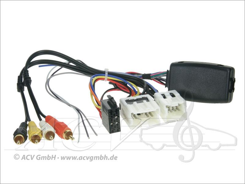 42-1214-801 Lenkradadapter Nissan mit Aktivsystem -> Clarion
