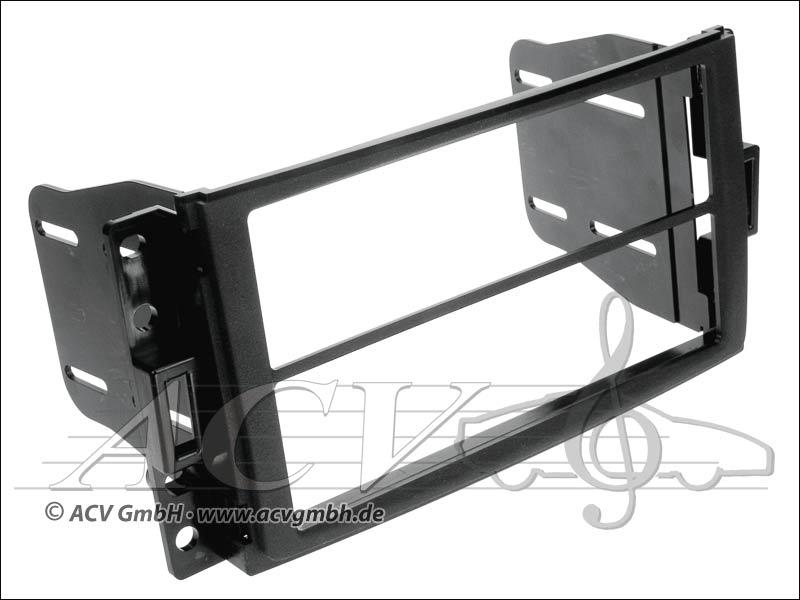 Doppia apertura ISO Chevrolet Corvette / Uplander, Hummer H3